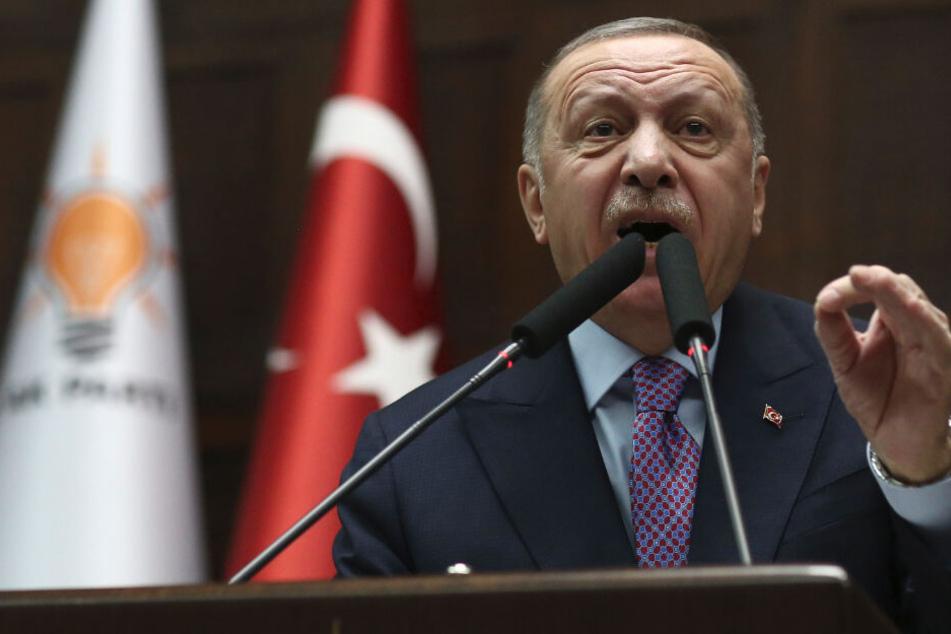 """""""Keine Köpfe mehr auf den Schultern"""": Erdogan droht mit mehr Gewalt"""