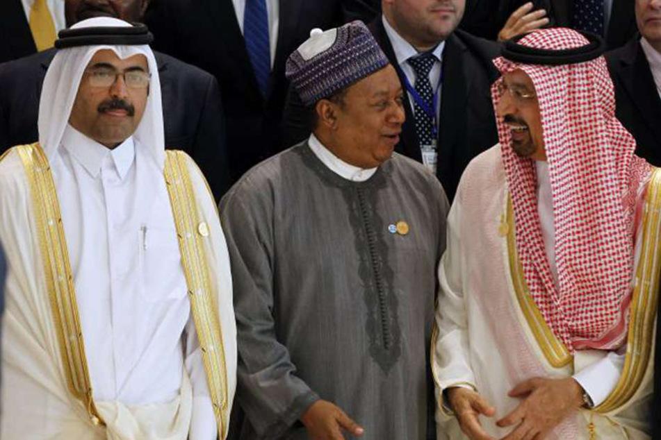 Am Mittwochnachmittag kamen die wichtigsten Öl-Bosse in Algier zusammen.