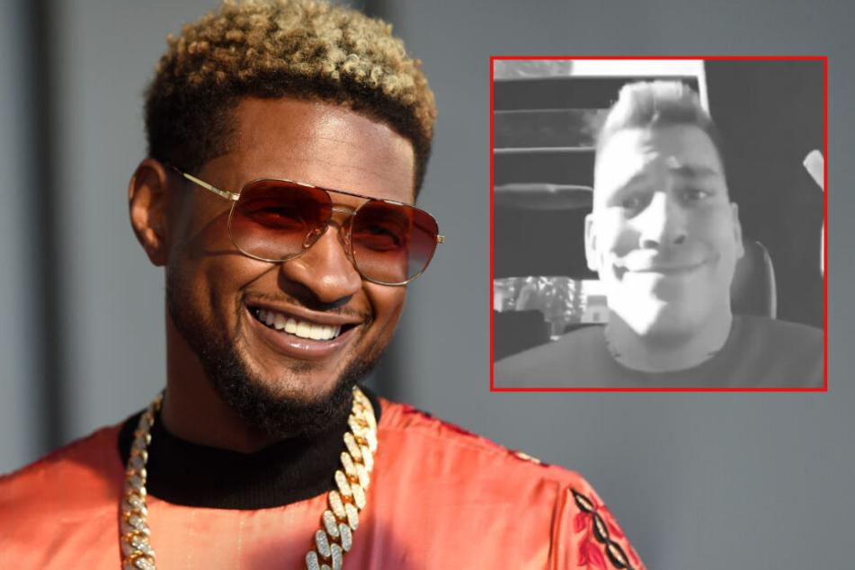 Deshalb teilte Weltstar Usher ein Video von 187-Rapper Gzuz!