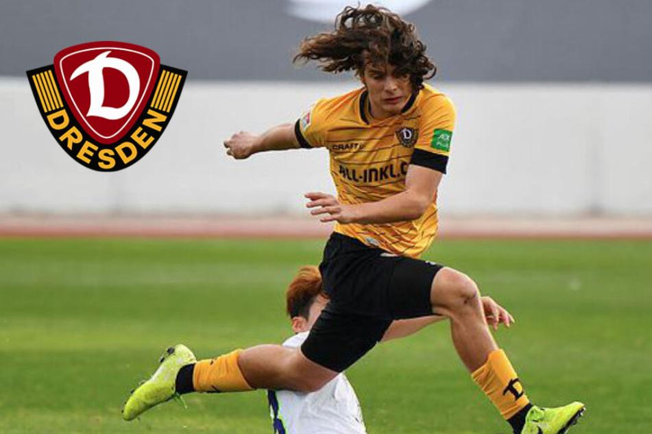 Dynamo Dresden verleiht Matthäus Taferner
