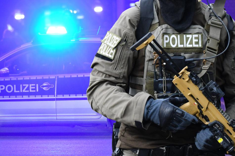 SEK-Einsatz in Mainz: Polizei rückt mit Großaufgebot an
