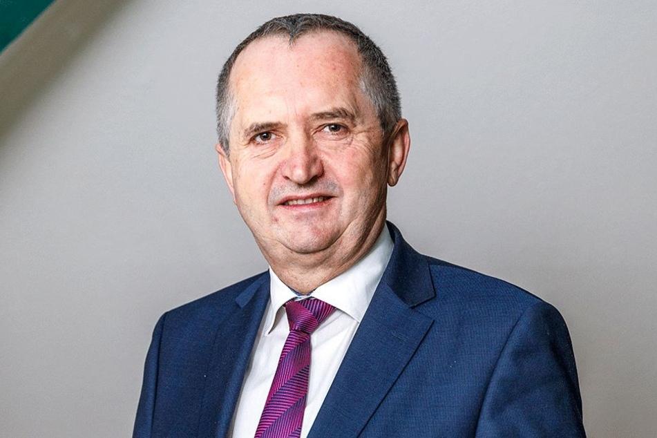 Sachsens Umweltminister Thomas Schmidt (56, CDU).