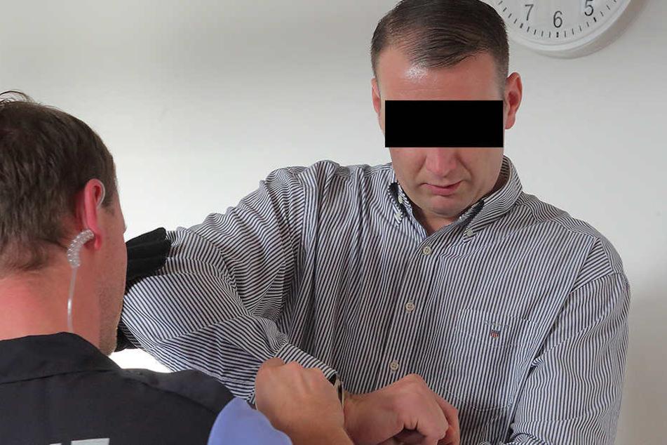 Meisterdieb Christian L. (33) muss lange hinter Gitter und zum Drogenentzug.