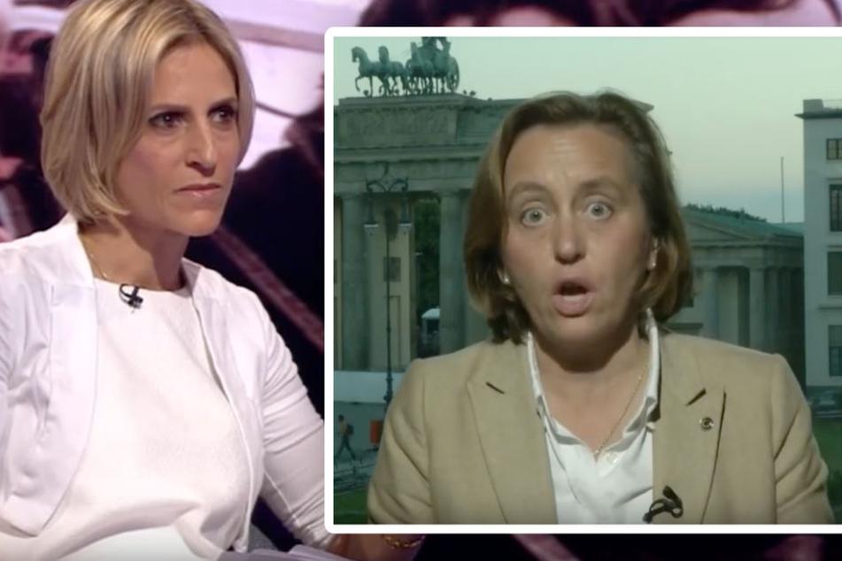 AfD-Frau von Storch mit TV-Interview des Jahres: Erst wird gekuschelt, dann ausgerastet