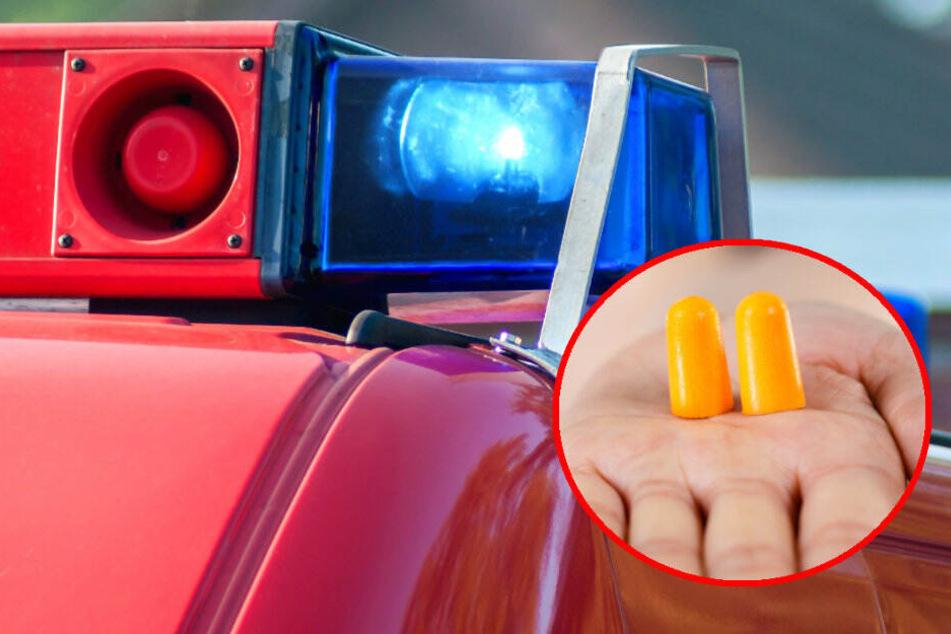 Martinshorn zu laut? Anonyme Verfasser drohen Feuerwehr