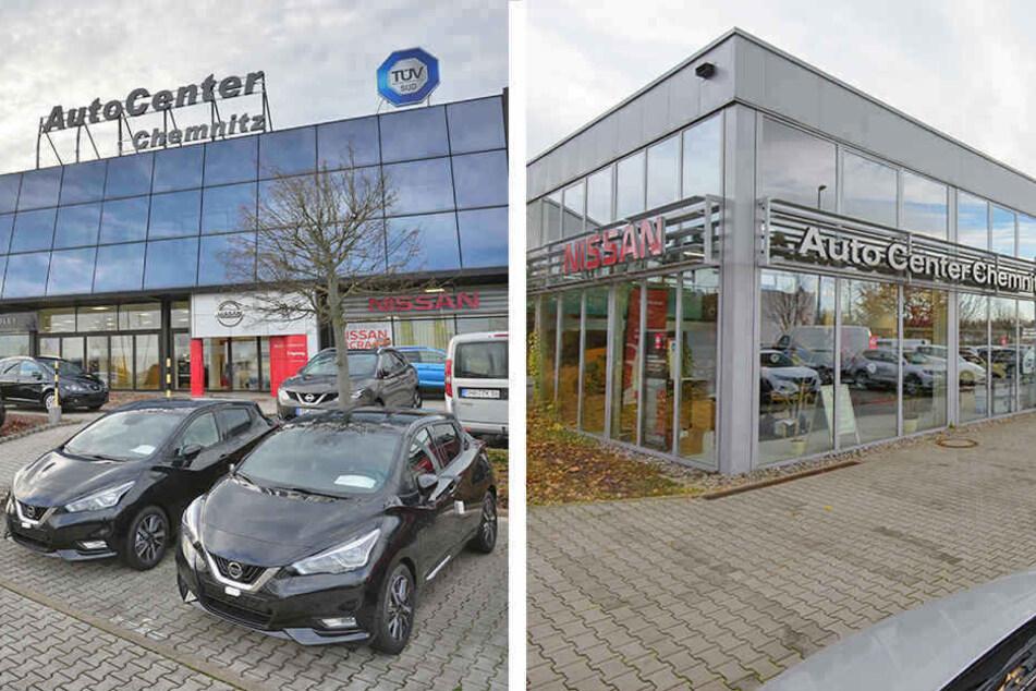 Das Autohaus findest Du zweimal in Chemnitz: in Kappel (links) und Röhrsdorf.