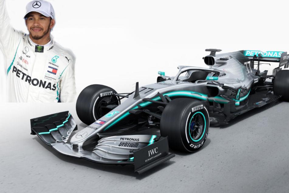 Lewis Hamilton (links im Bild) will in der Saison 2019 zum sechsten Mal Formel 1-Weltmeister werden. (Bildcollage)