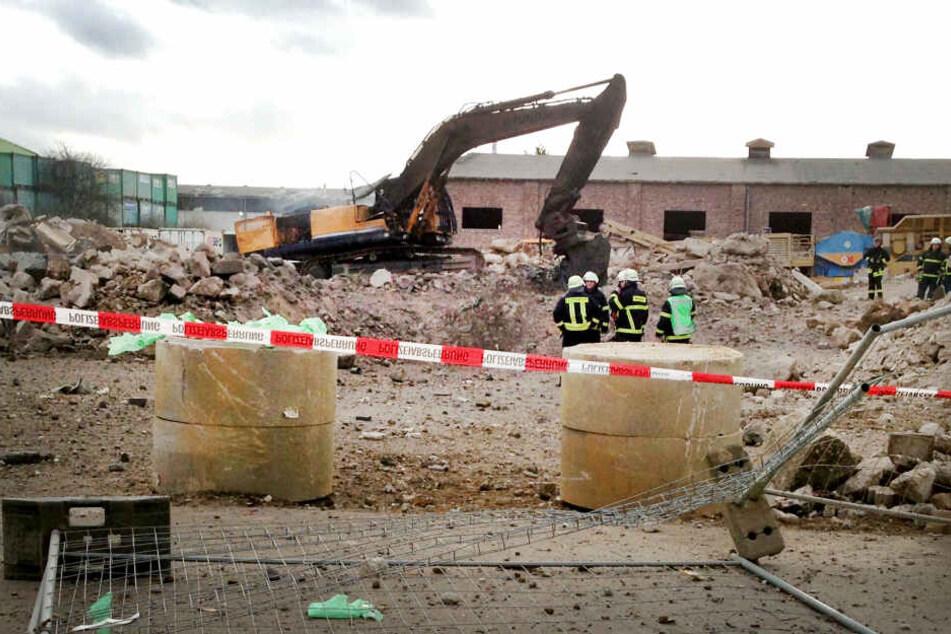 Die Bombe war am 3. Januar 2015 bei Baggerarbeiten in einem Industriegebiet explodiert.