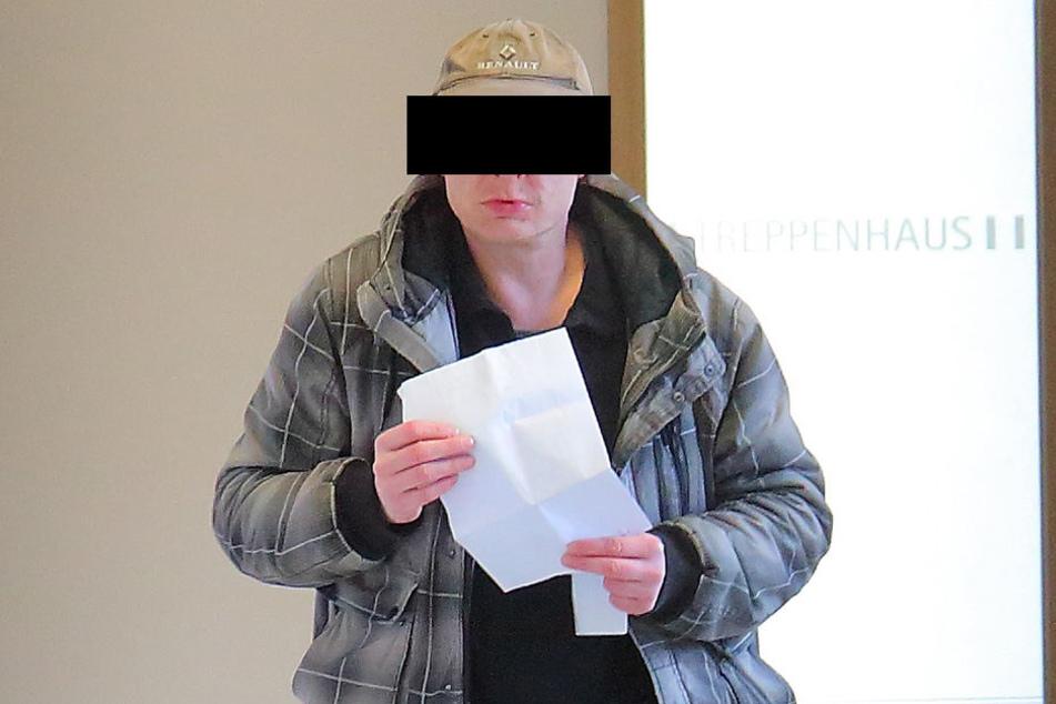 Dauerkrimineller Steffen B. (46) kassierte im Amtsgericht Urteil Nummer 24.