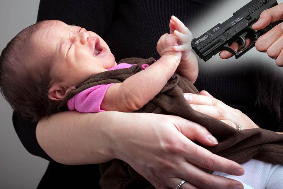 Überfall auf Krankenhaus! Baby wird in den Armen der Mutter erschossen
