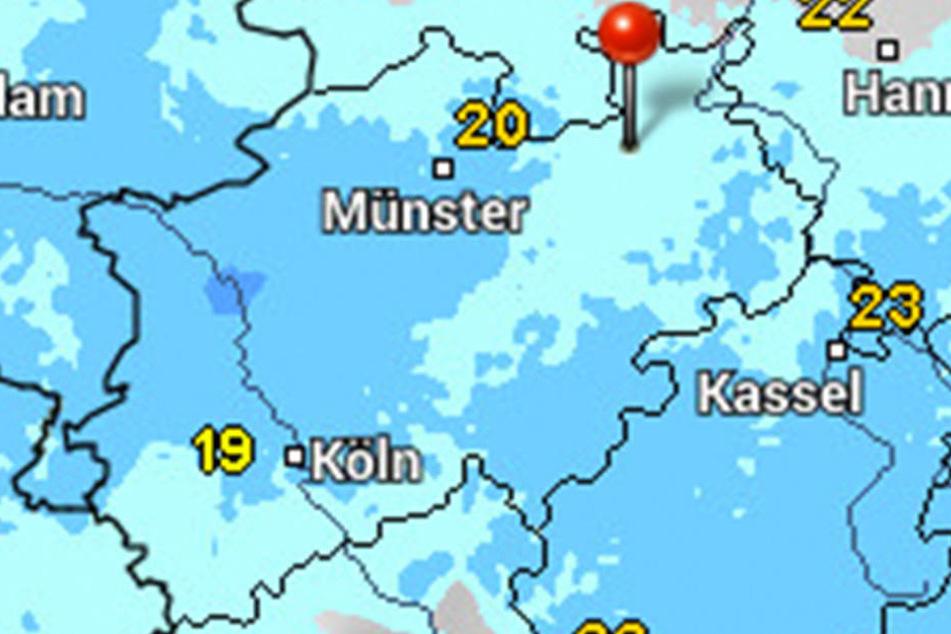 Es wird kühler und regnerisch in der kommenden Woche.