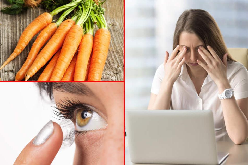 Ohne Brille besser sehen: Einfache Übungen können dem Auge helfen!