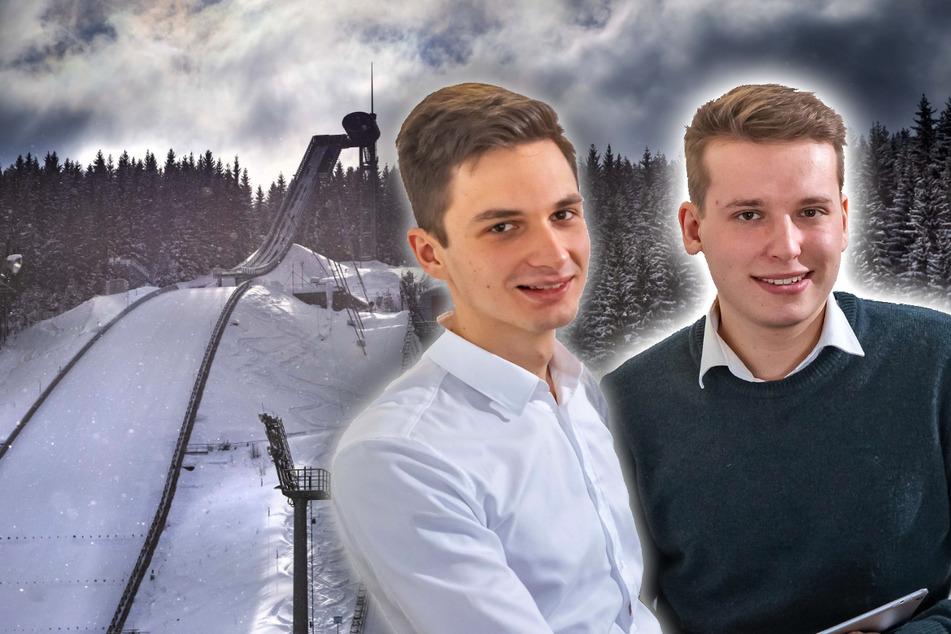 Mit Drohne zur Vierschanzentournee: Zwei Vogtländer mischen den Wintersport auf