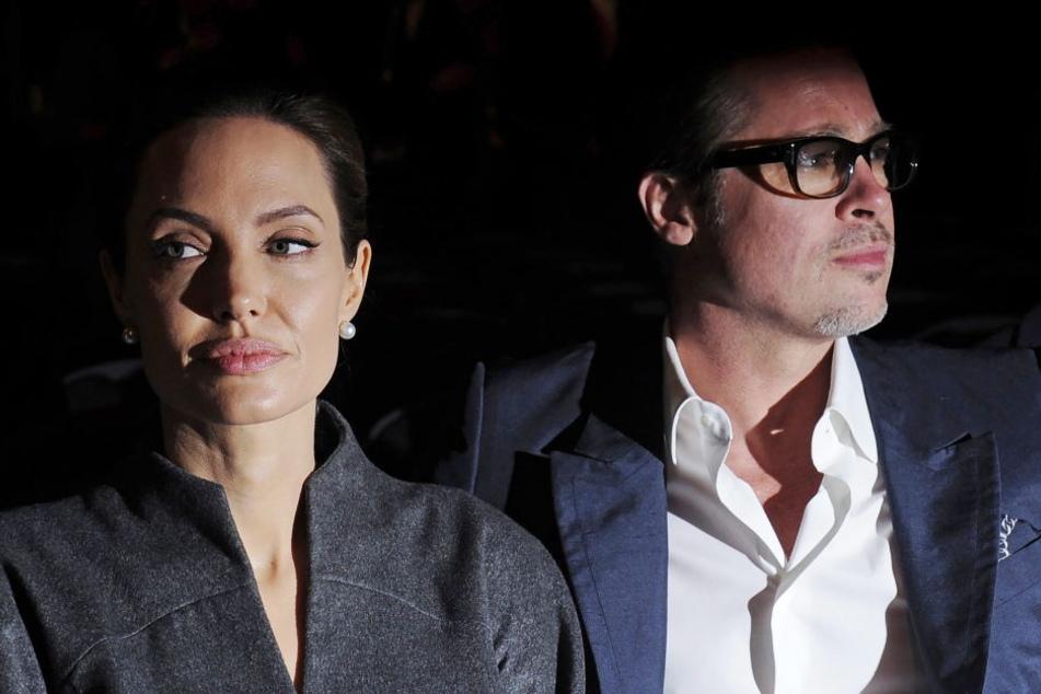 Lange gab es Streit zwischen Angelina Jolie und Brad Pitt.