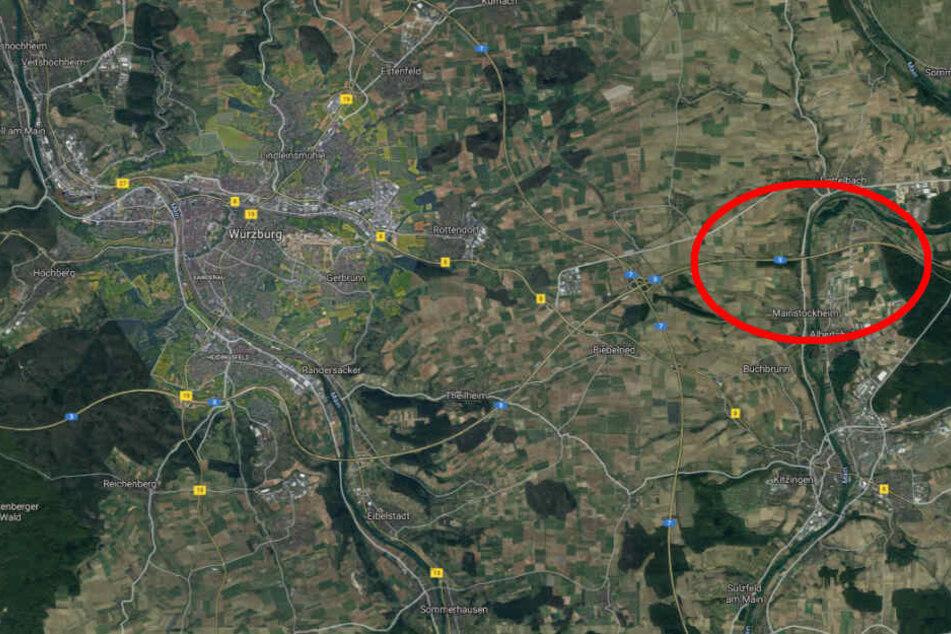 Der Unfall passierte auf der A3 bei Mainstockheim.