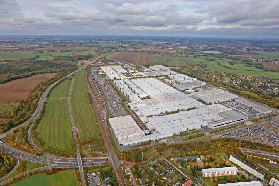 Der tödliche Arbeitsunfall passierte auf dem Gelände des VW-Werks in Zwickau.