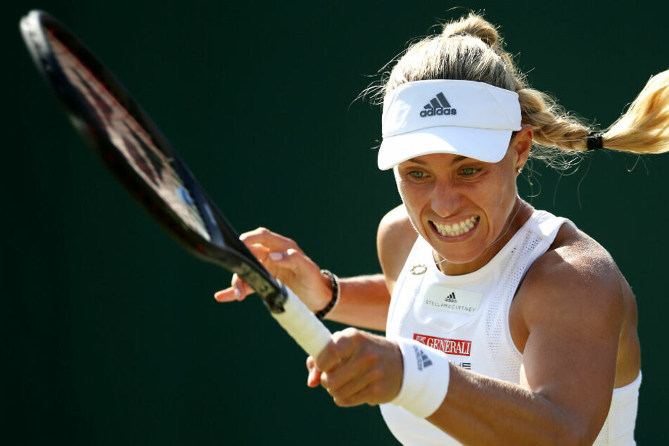 Angelique Kerber ist auf dem Tennisplatz in Aktion. (Archivbild)