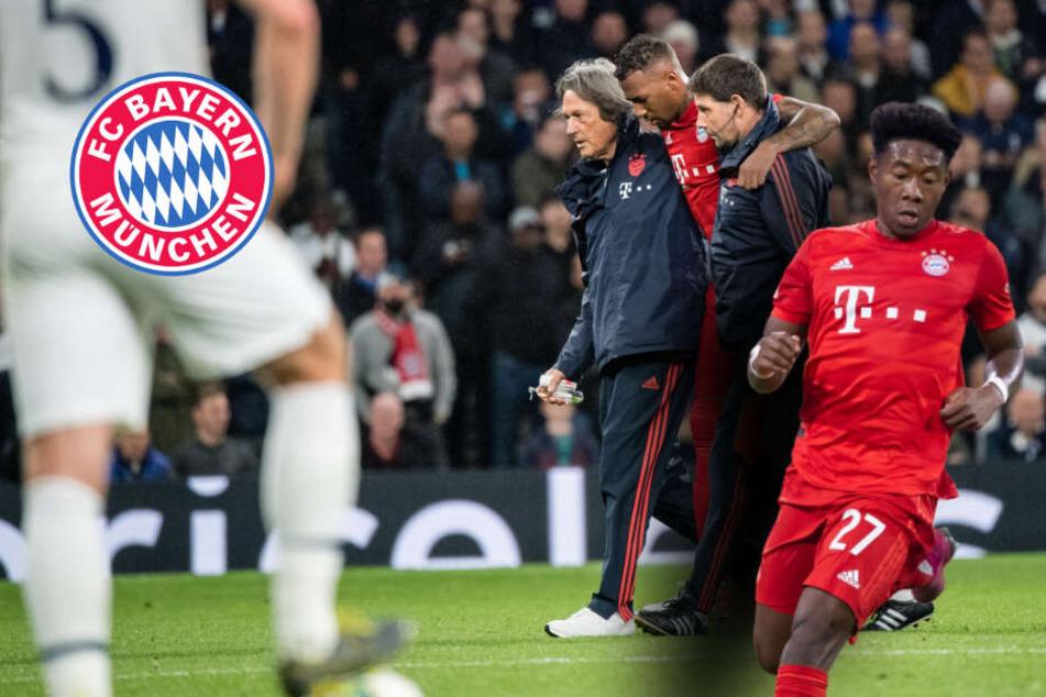 Schock beim FC Bayern: Alaba und Boateng fallen wahrscheinlich verletzt aus
