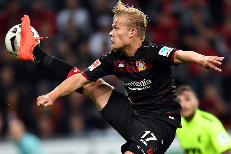 Kickt Joel Pohjanpalo bald für den Hamburger SV? (Archivbild)