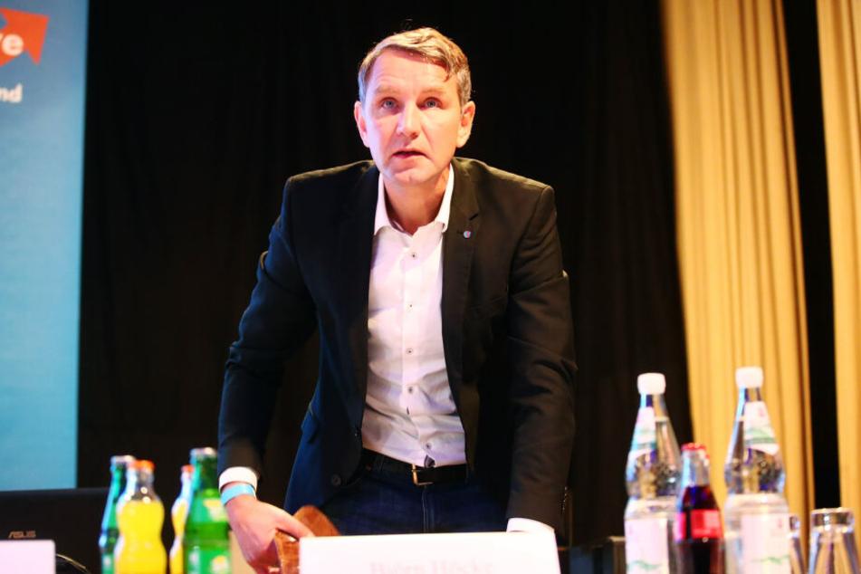 Björn Höcke ist der Landesvorsitzender der AfD in Thüringen.