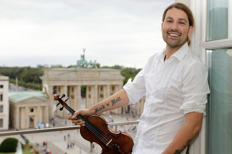 Star-Geiger David Garrett feiert Tour-Premiere in Chemnitz