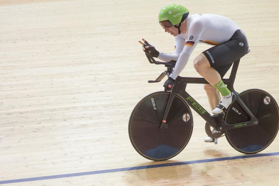 Der Chemnitzer Joachim Eilers sicherte sich am Samstag seinen zehnten Weltcupsieg.