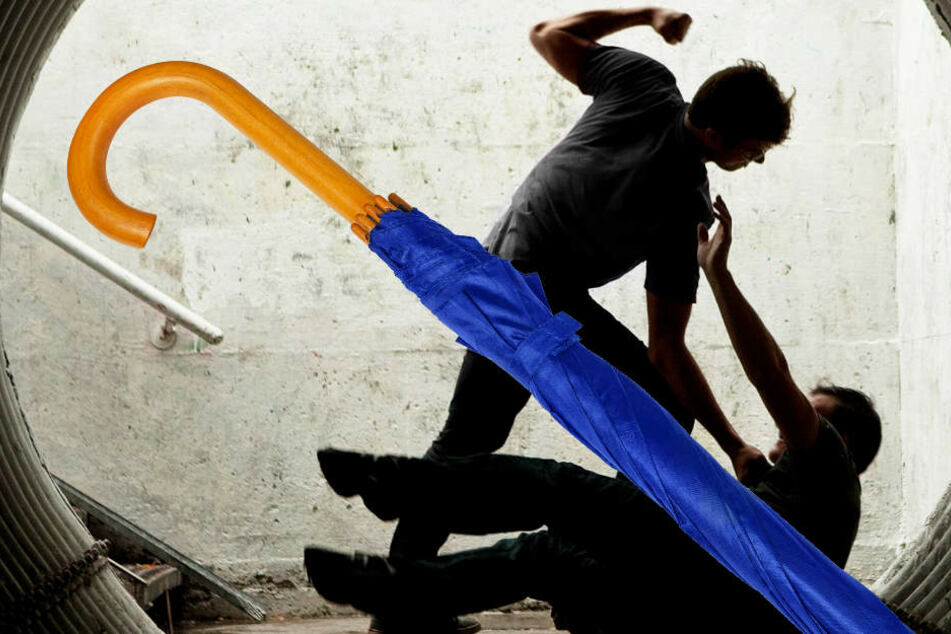 Grundlos und brutal: Gruppe schlägt 19-Jährigen mit Regenschirm zusammen