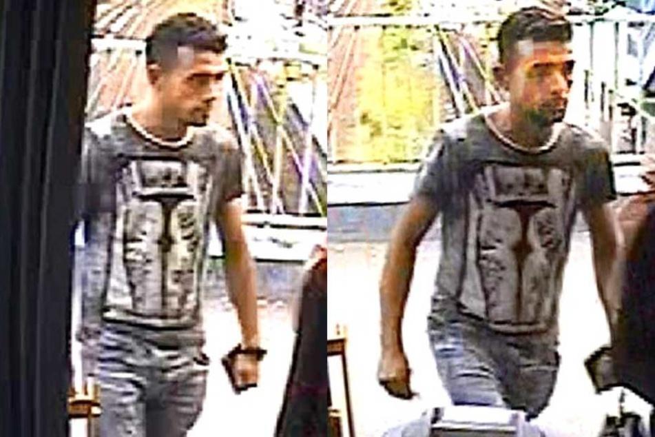 Mit Aufnahmen aus der Überwachungskamera des Busses soll der Tatverdächtige ermittelt werden.