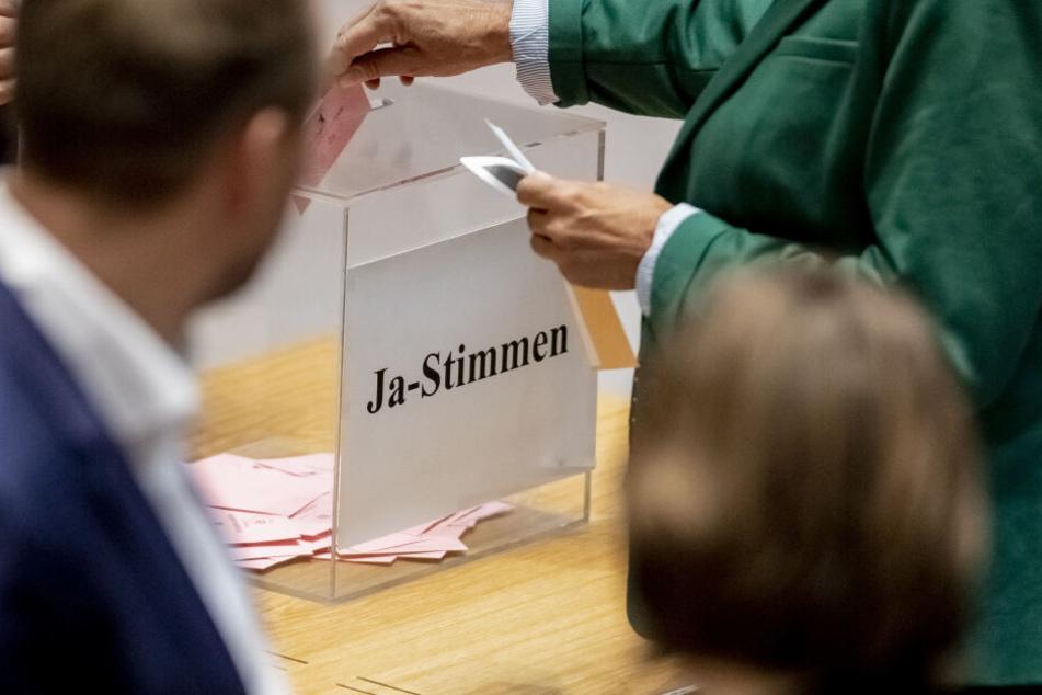 Das Abgeordnetenhaus hat sich am Donnerstag zur Abstimmung getroffen.