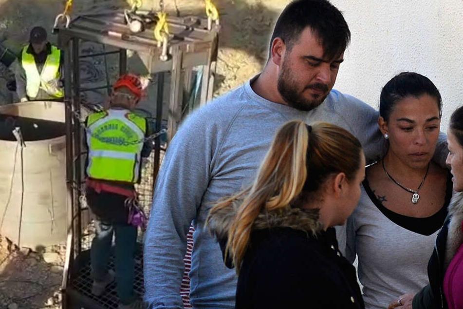 Spanien trauert um toten Julen (2): Video zeigt dramatische Tunnel-Arbeiten