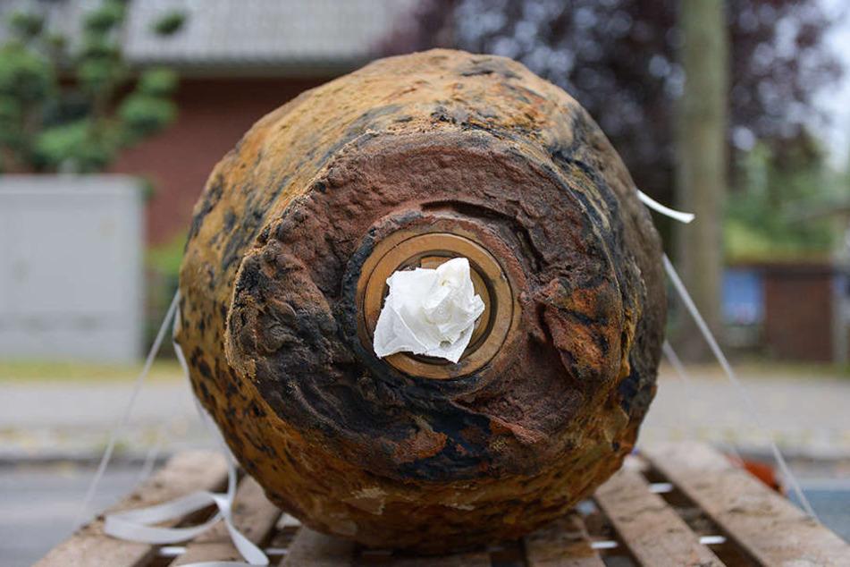 Eine Weltkriegsbombe wurde am Montagmorgen in Frankfurt am Main gefunden.