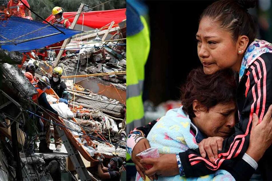 Alarm in Mexiko-Stadt: Schon wieder ein heftiges Erdbeben!