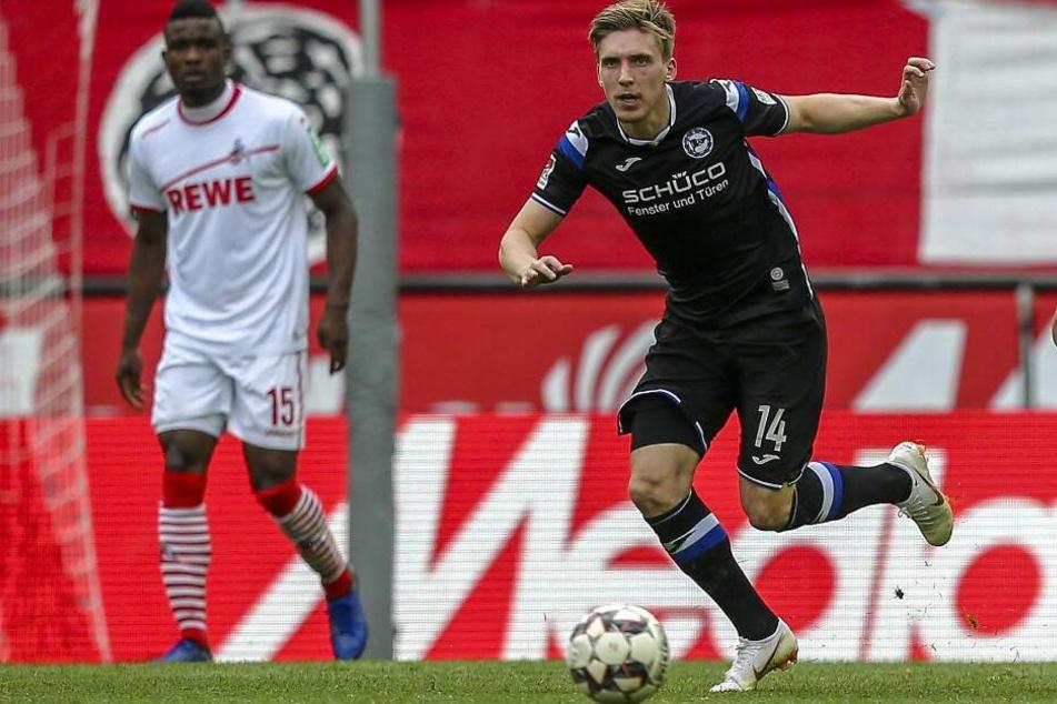 Im letzten Spiel gegen den 1. FC Köln konnte auch der talentierte Färinger nichts ausrichten.