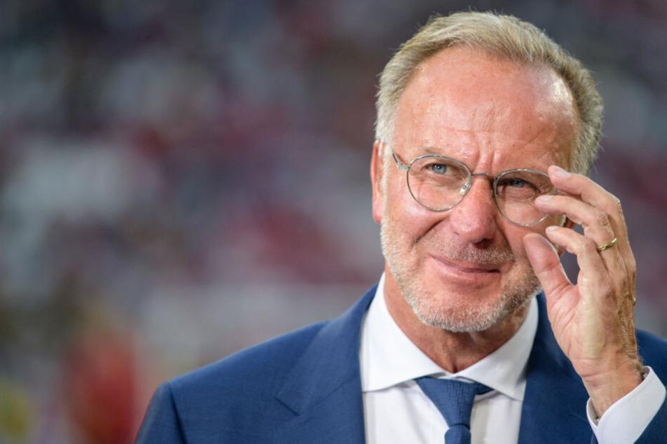Karl-Heinz Rummenigge hat kein Verständnis für die Reaktion von Werder Bremen.