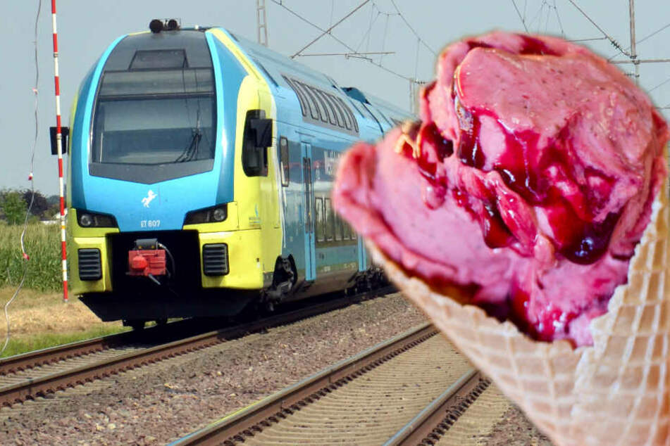 In der Westfalenbahn bekommen Reisende Eis geschenkt. (Symbolbild)