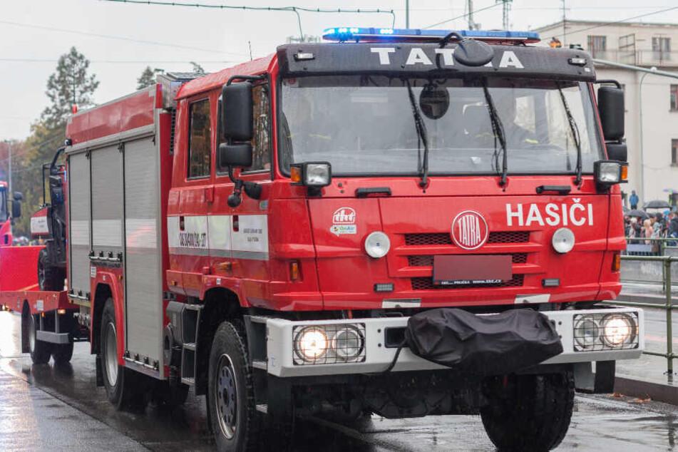 Das Feuer in dem Entsorgungsbetrieb konnte schnell gelöscht werden.