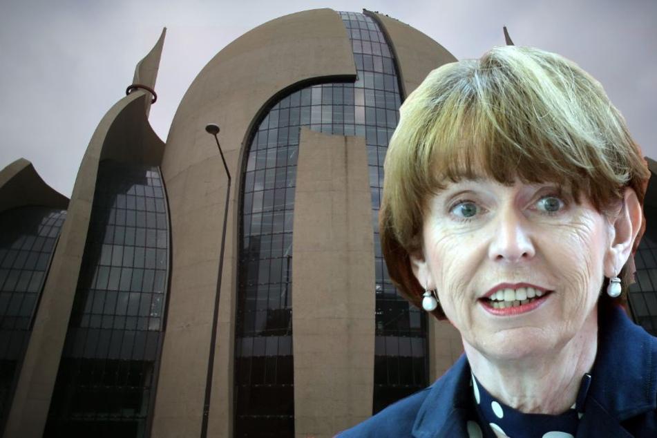 Die Kölner Oberbürgermeisterin Henriette Reker (61) kommt nicht zur Moschee-Eröffnung (Bild-Montage).