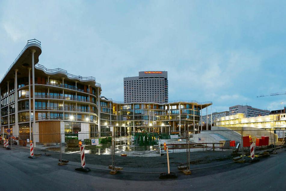 Das ist der aktuelle Stand der Bauarbeiten der Sächsischen Aufbaubank (SAB).
