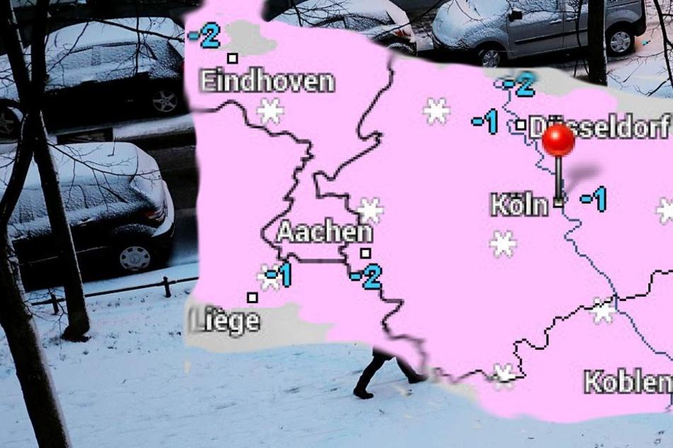 Mit den milderen Temperaturen wird es auch wieder Schnee geben.