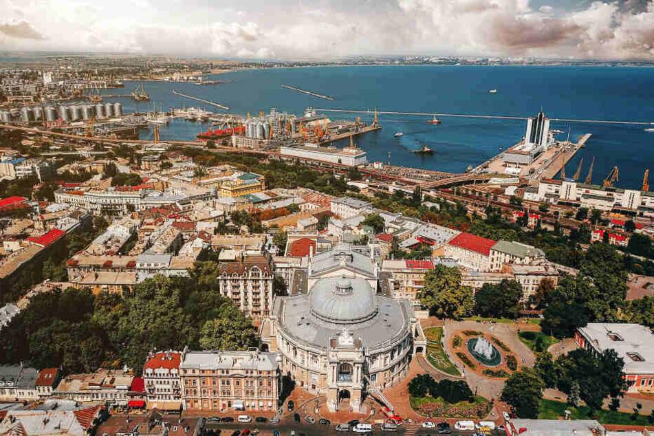 Blick auf die Hafenstadt Odessa. (Archivbild)