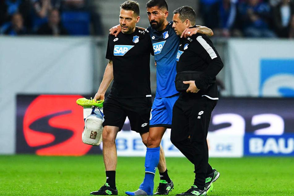 Die nächste Verletzung: Kerem Demirbay wird der TSG Hoffenheim mehrere Wochen fehlen.