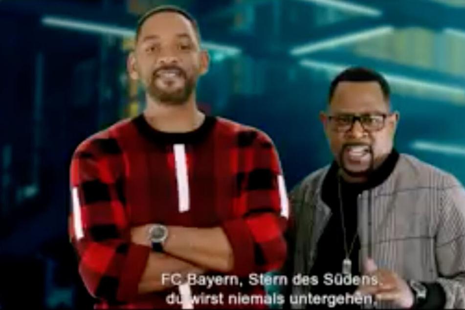 """Warum singen die """"Bad-Boys"""" Will Smith & Martin Lawrence die Bayern-Hymne """"Stern des Südens""""?"""