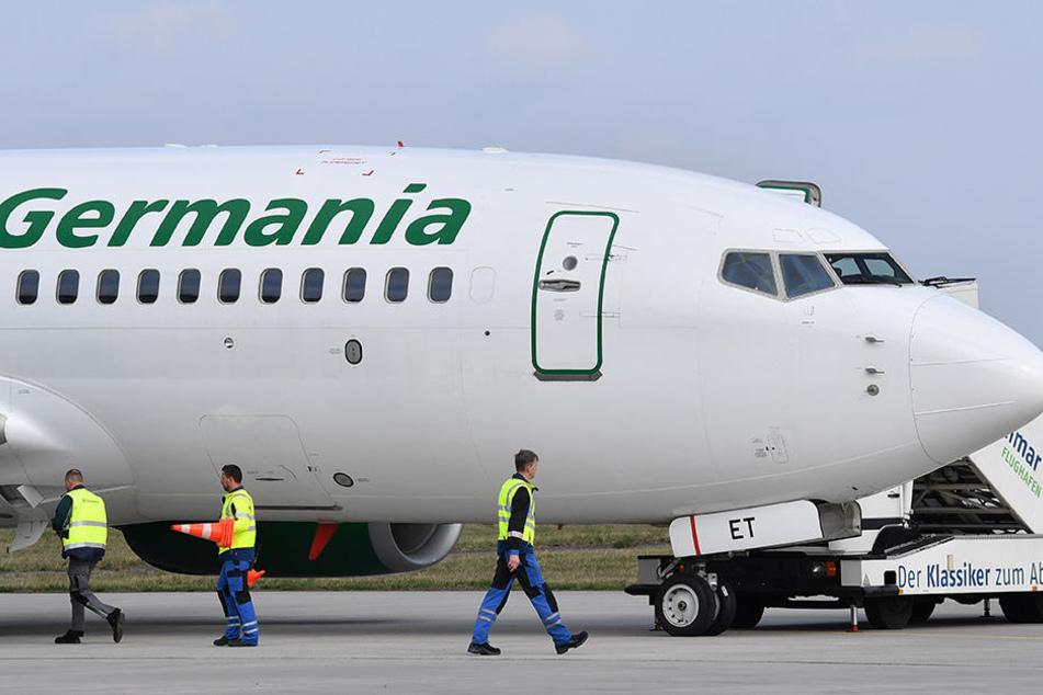 Allein die Fluggesellschaft Germania beförderte in Erfurt rund 153 000 Passagiere.