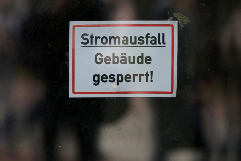 Der Stromausfall in Grimma sorgte unter anderem für Unterrichtsausfall am Gymnasium. (Symbolbild)