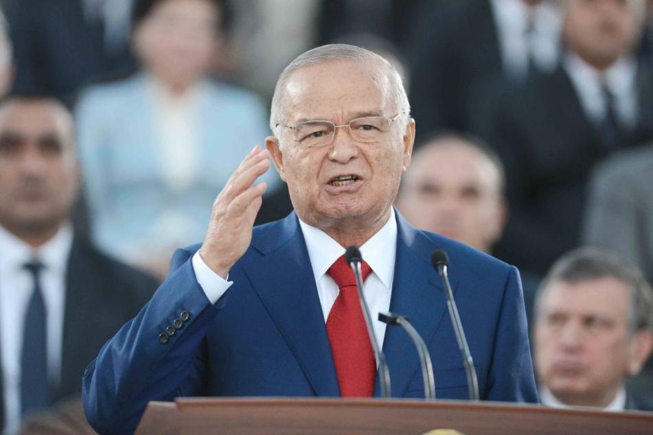 Seit 1991 war Islam Karimow Präsident im unabhängigen Usbekistan.