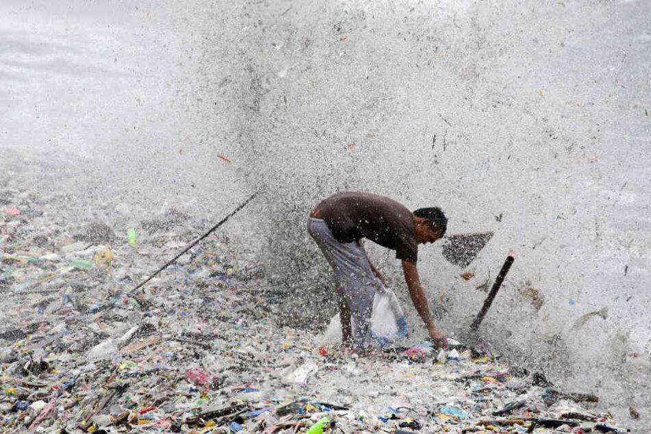 Plastikmüll ist schon lange ein riesiges Problem für die Weltmeere.