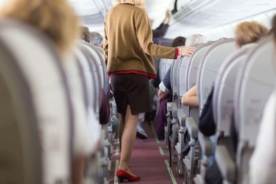 Für eine Frau wurde ein Intercontinentalflug zum Horrortrip