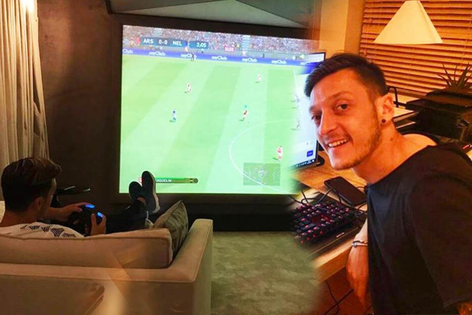 """Auch Mesut Özil gilt als großer Fan von Videospielen, besonders """"Fortnite"""" und """"FIFA"""" sollen zu seinen Favoriten gehören."""