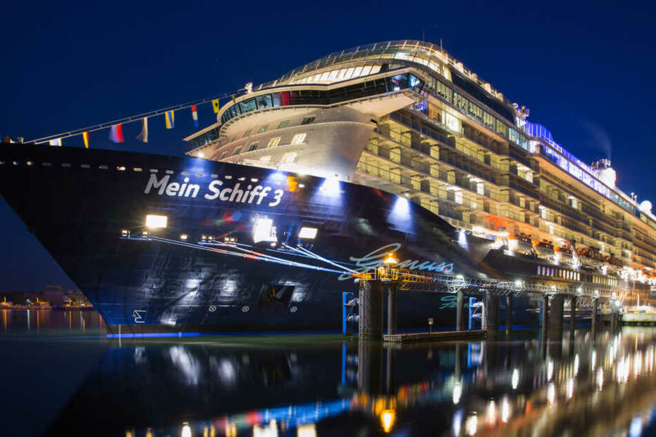 Das Schiff von Tui Cruises.