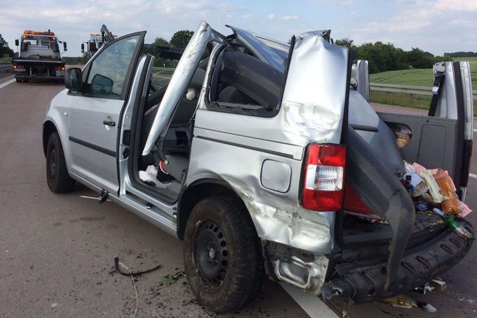 Geisterfahrer-Crash auf A9: Frau musste aus Auto geschnitten werden